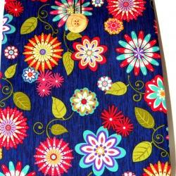 iPad 1, iPad 2 Cover/Sleeve - Blue Floral